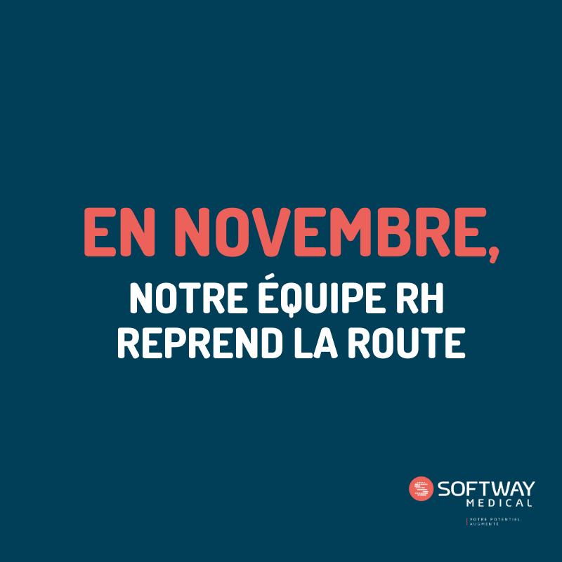 #JOINUS   NOTRE TEAM RH CONTINUE SON TOUR DE FRANCE DES FORUMS ÉTUDIANTS EN NOVEMBRE !