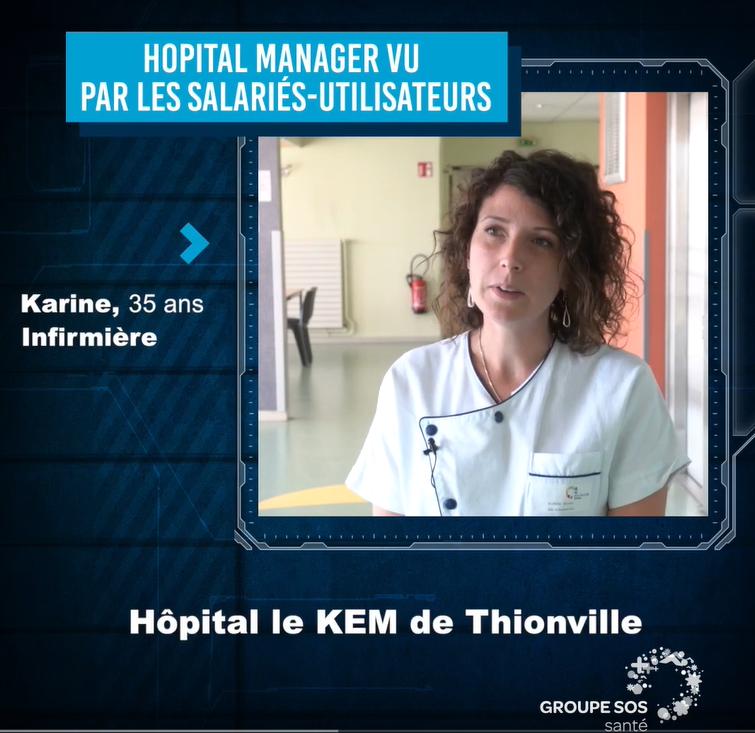 Karine, Infirmière – Groupe SOS SANTE