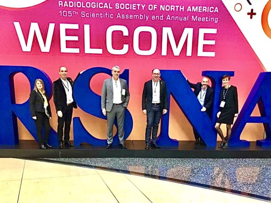 Une délégation spéciale SOFTWAY MEDICAL est en direct de Chicago au Radiological Society of North America (RSNA) !