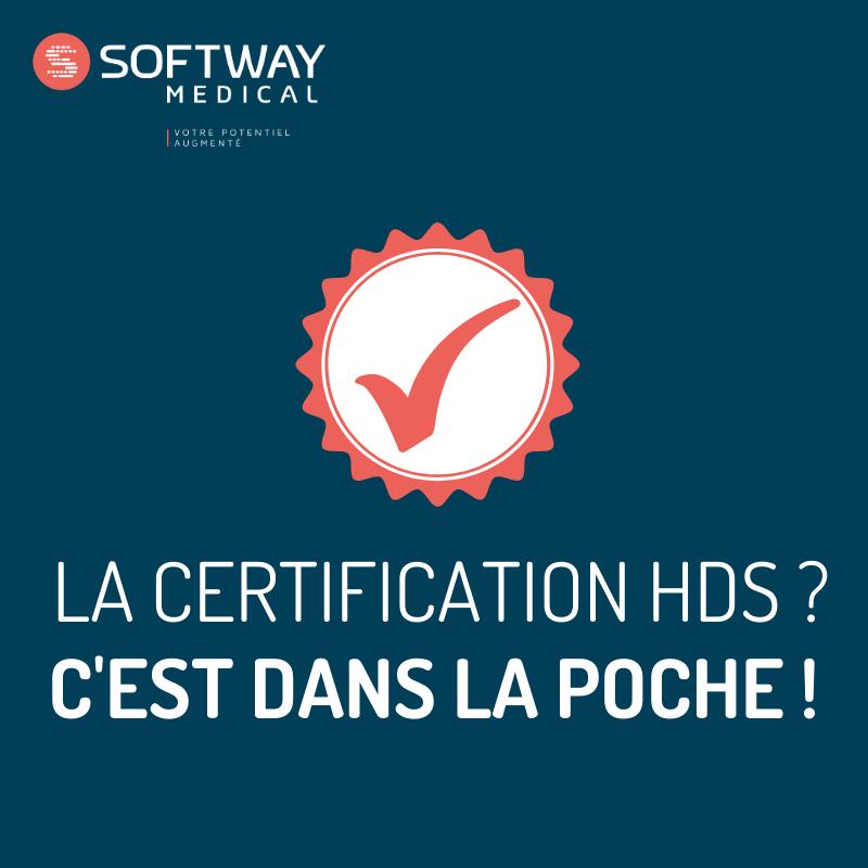 La certification HDS c'est dans la poche !