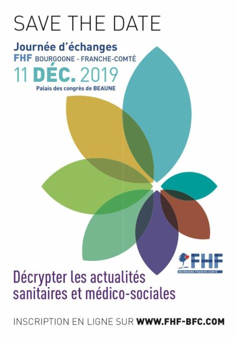 J-6 avant la Journée d'Etudes de la Fédération Hospitalière de France Bourgogne Franche-Comté !