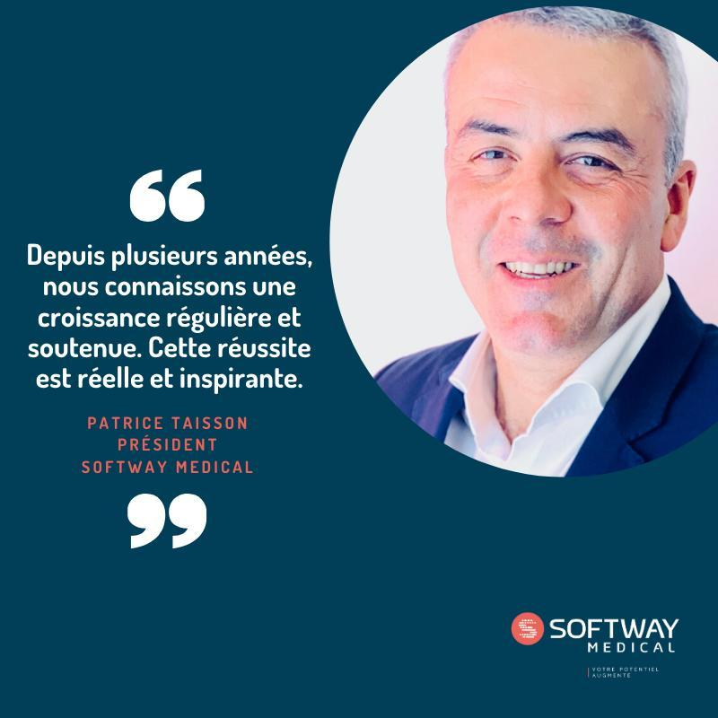 Patrice Taisson Président SOFTWAY MEDICAL