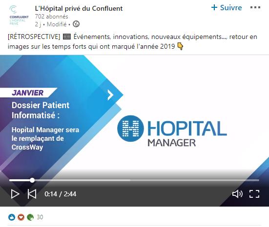 L'Hôpital Privé du Confluent a choisi SOFTWAY MEDICAL pour l'accompagner dans son offre de soins !