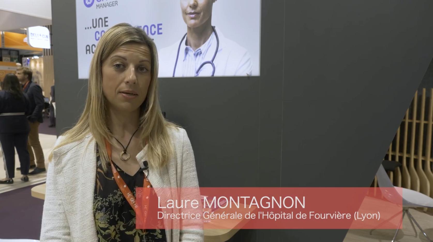 Laure MONTAGNON – Directrice Générale de l'Hôpital de Fourvière à Lyon