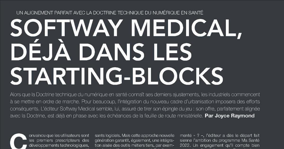 ON PARLE DE NOUS DANS HOSPITALIA : Un alignement parfait avec la doctrine technique du Numérique en Santé !
