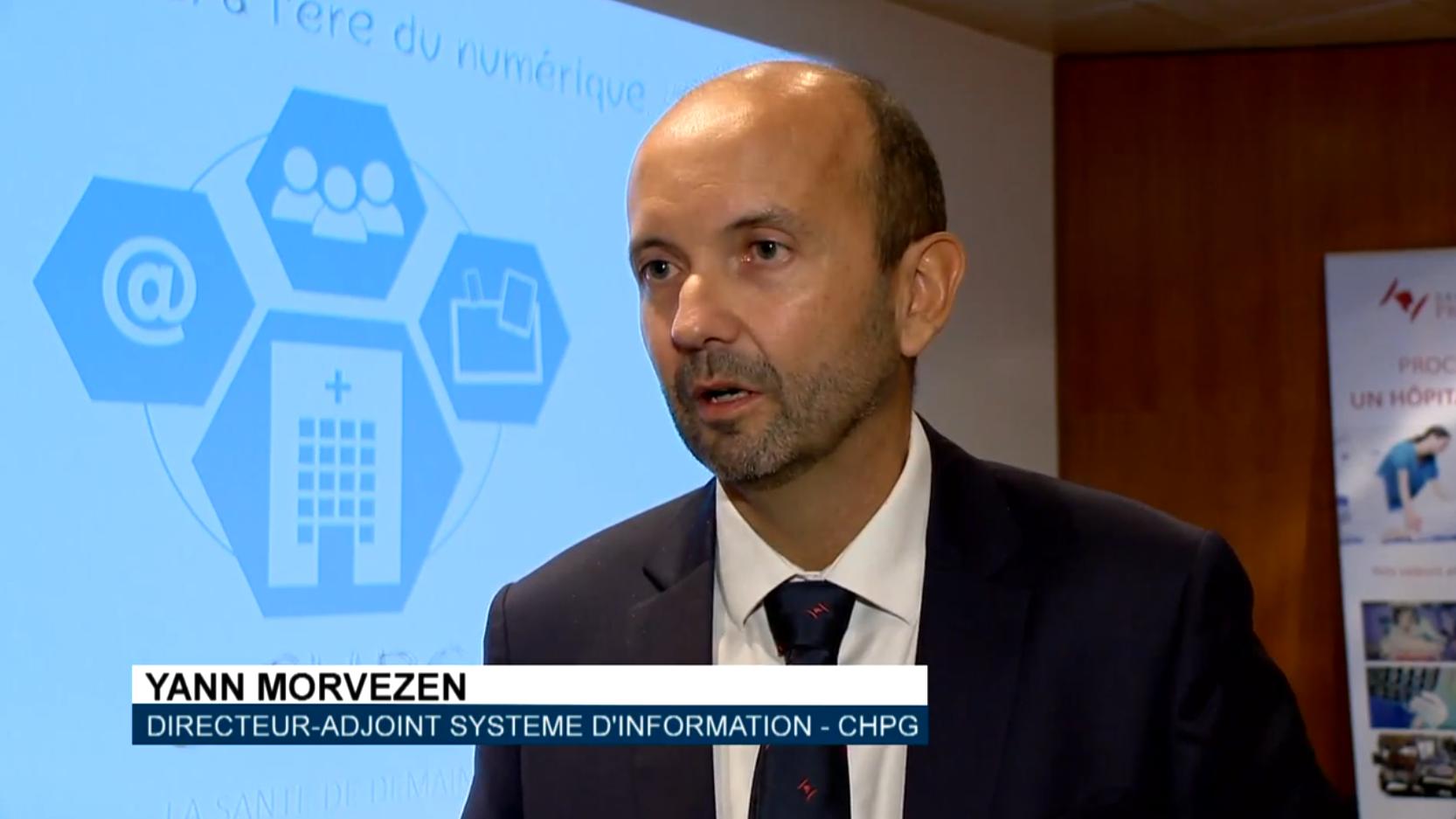 Yann MORVEZEN, Directeur-adjoint Système d'Information du CHPG de Monaco
