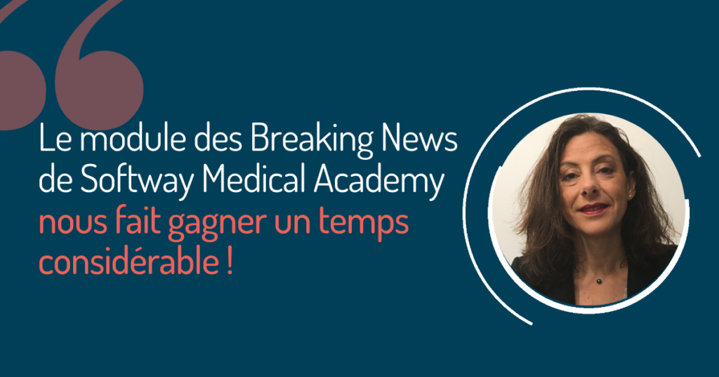 Témoignage de FRANCINE GASTON CARRERE sur Softway Medical Academy