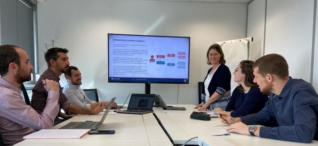 Travail d'équipe entre les collaborateurs Softway Medical