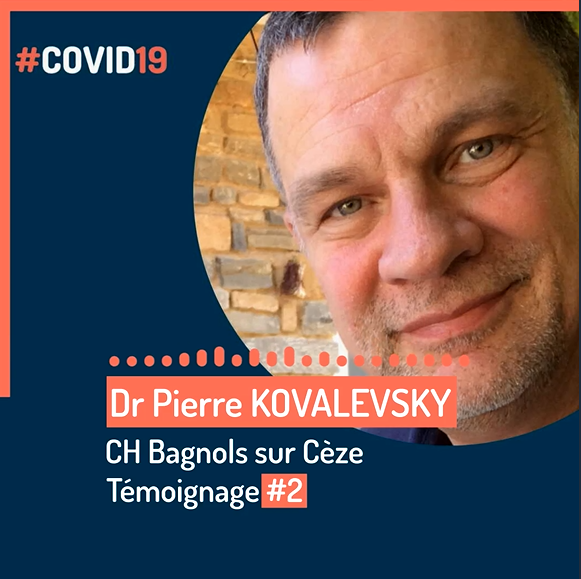 Dr Pierre KOVALEVSKY, Centre Hospitalier de Bagnols-Sur-Cèze