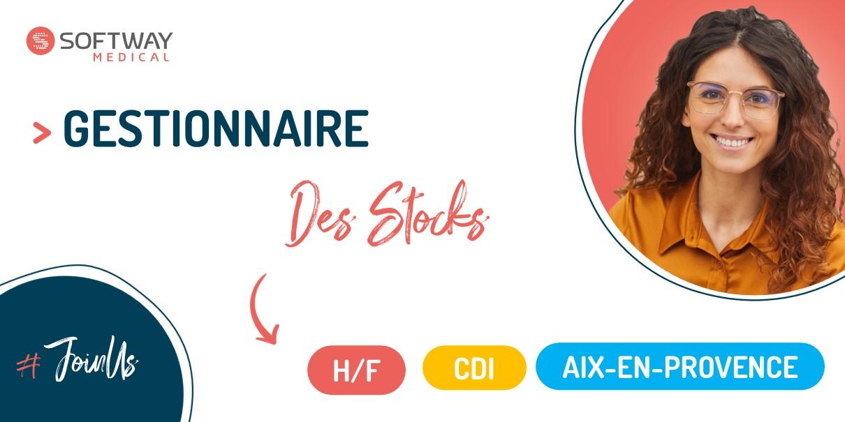 GESTIONNAIRE DE STOCK – Aix-En-Provence – F/H