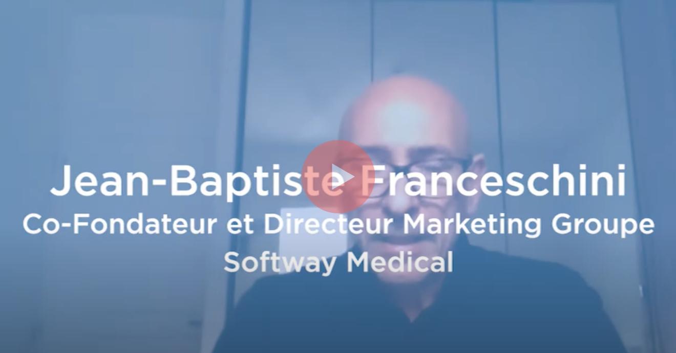 Jean-Baptiste Franceschini, co-fondateur de Softway Medical revient sur 2 des actions mises en place dans ce contexte de crise Covid-19