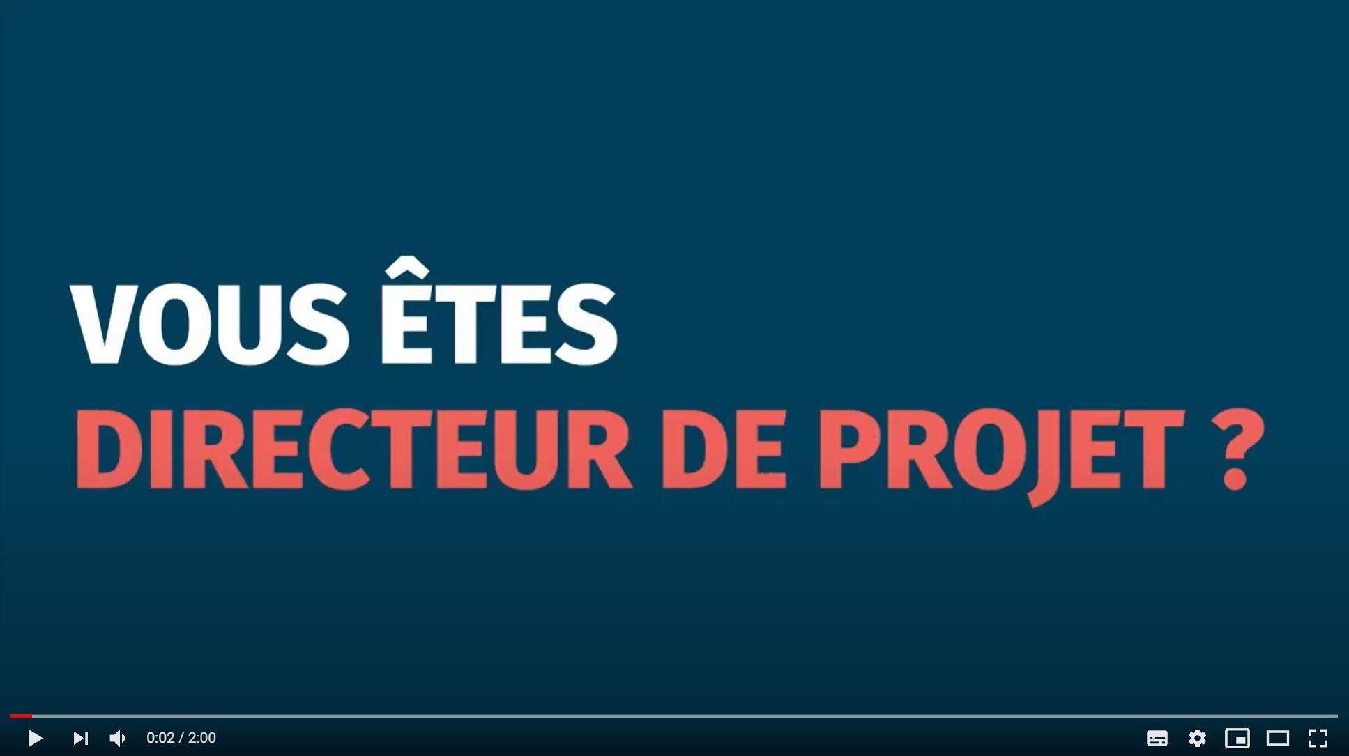 DIRECTEURS DE PROJET, REJOIGNEZ-NOUS