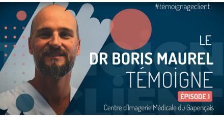 Docteur Boris MAUREL, Radiologue du Centre d'Imagerie du Gapençais