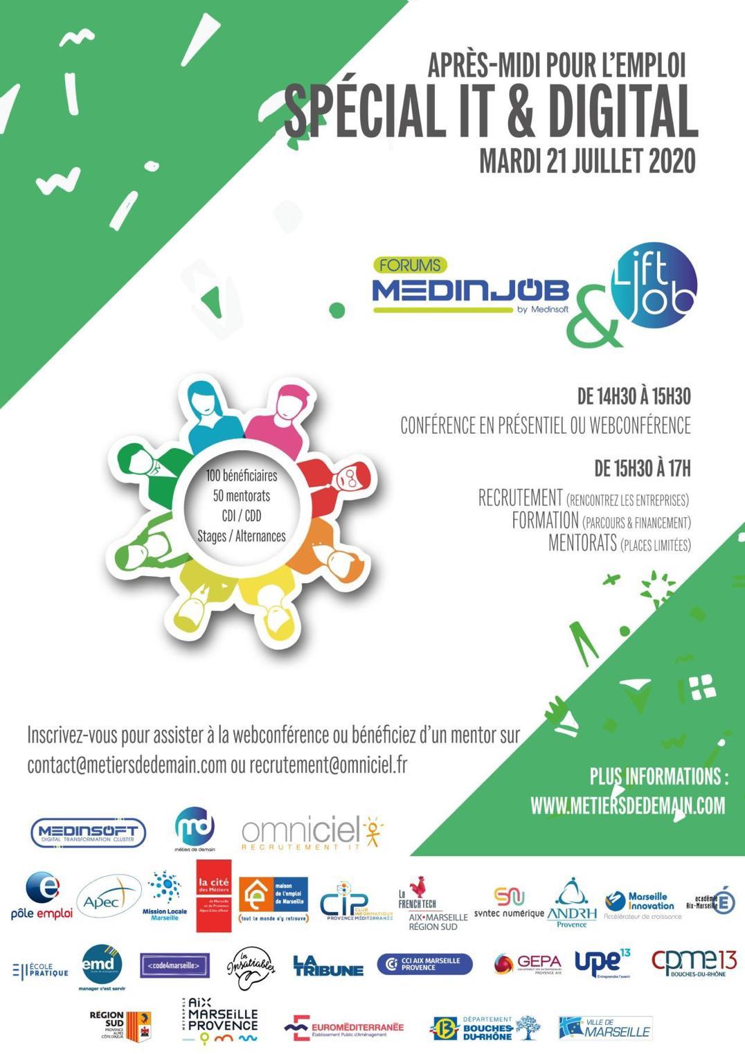 ForumMedinjob - Votre rendez-vous annuel de l'IT & Digital