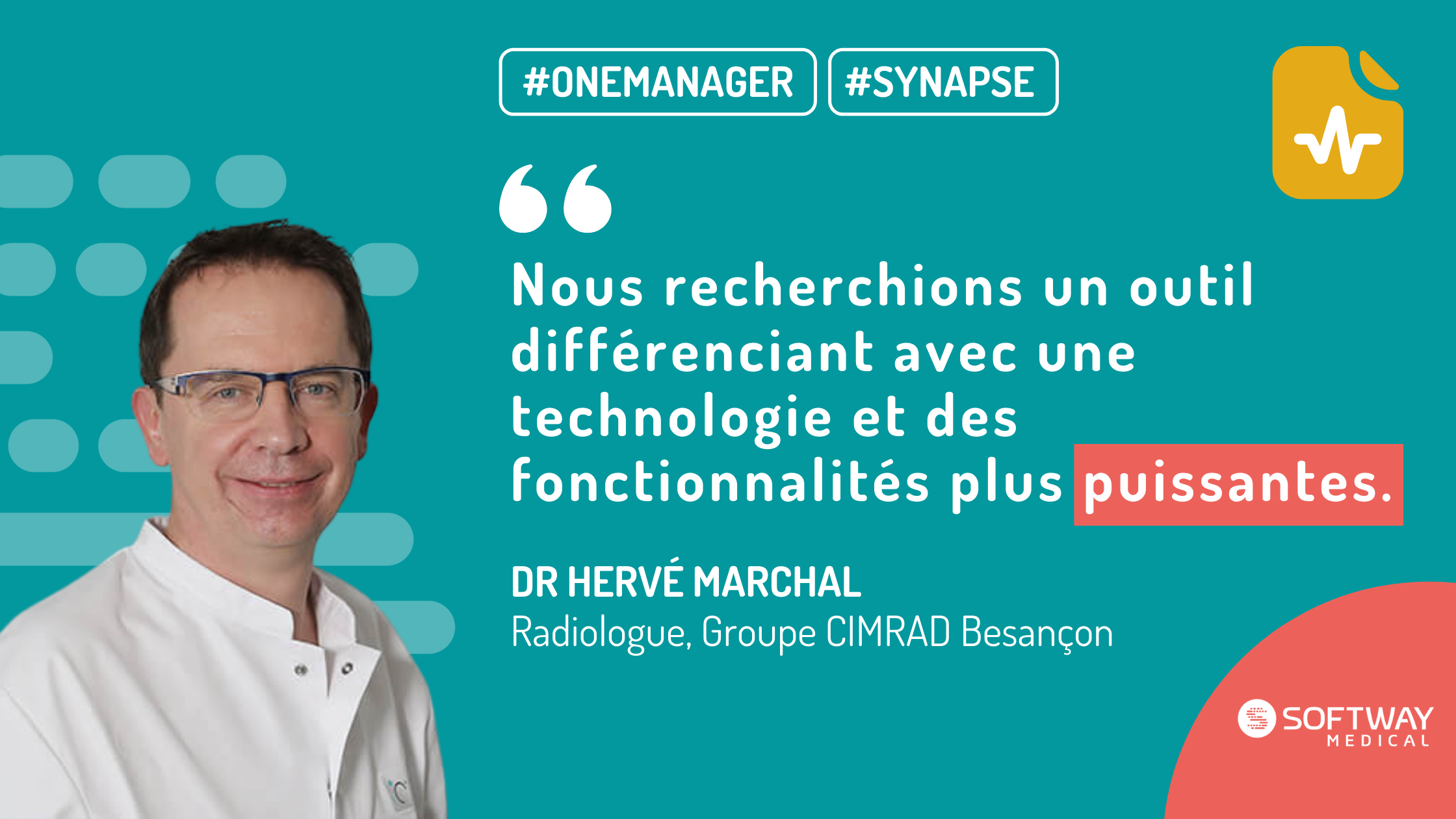 Radiologue – Groupe CIMRAD, Besançon