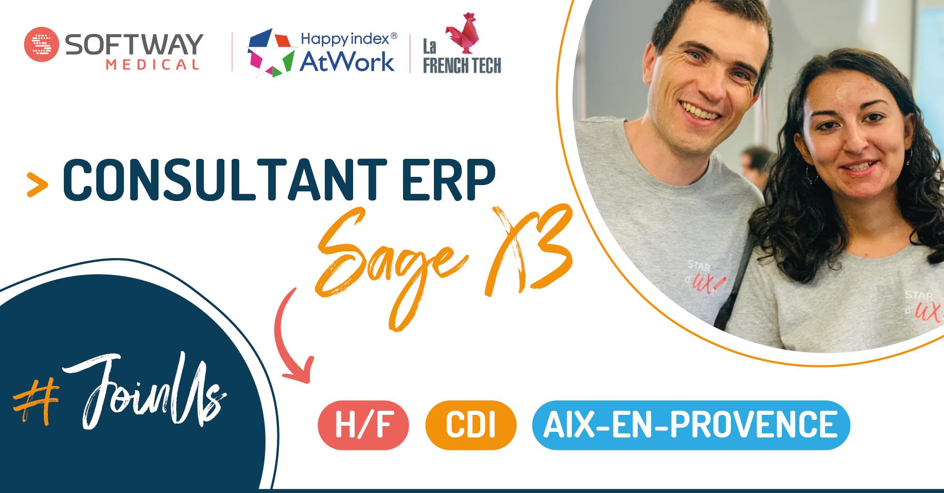 CONSULTANT ERP SAGE X3- H/F – Aix-En-Provence