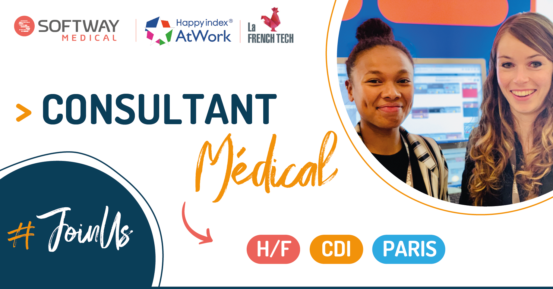 CONSULTANT FONCTIONNEL MEDICAL – H/F – Paris