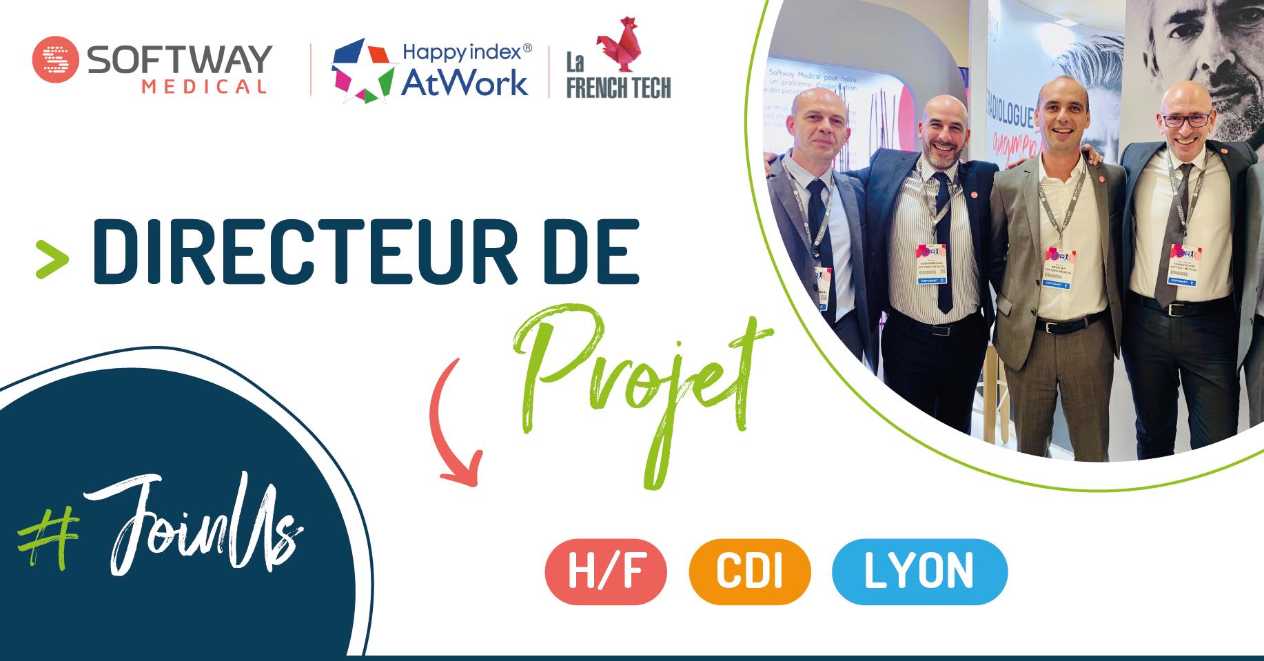 DIRECTEUR DE PROJET – H/F – Lyon