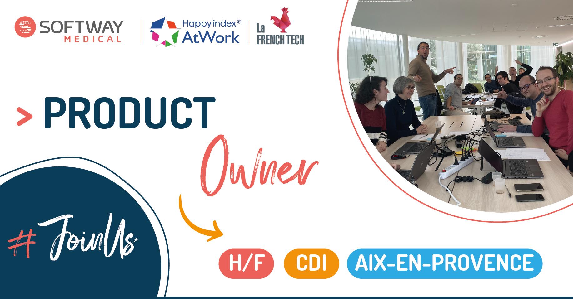 PRODUCT OWNER – H/F – Aix-en-Provence