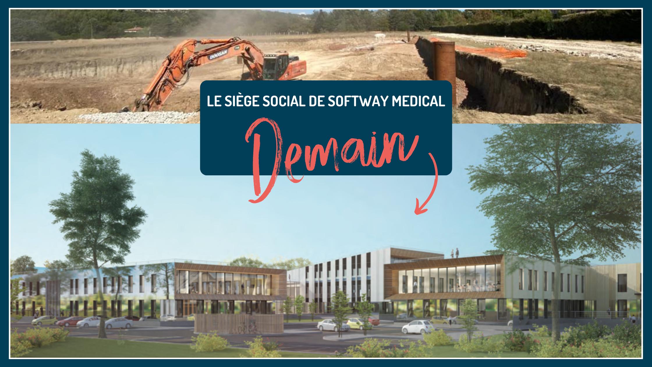 Softway Medical dévoile son futur siège