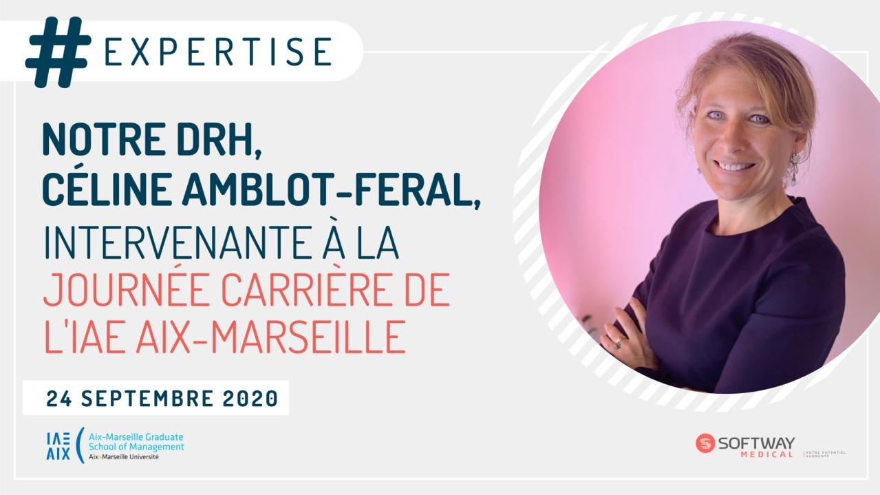 La DRH de Softway Medical intervenante à l'IAE Aix-Marseille