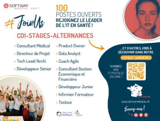 Softway Medical : un appel à rejoindre le Groupe, lancé dans La Provence !