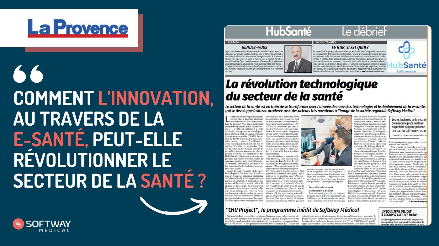 Comment l'innovation, au travers de la e-santé, peut-elle révolutionner le secteur de la santé ?
