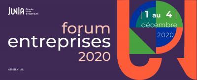 Forum entreprises JUNIA
