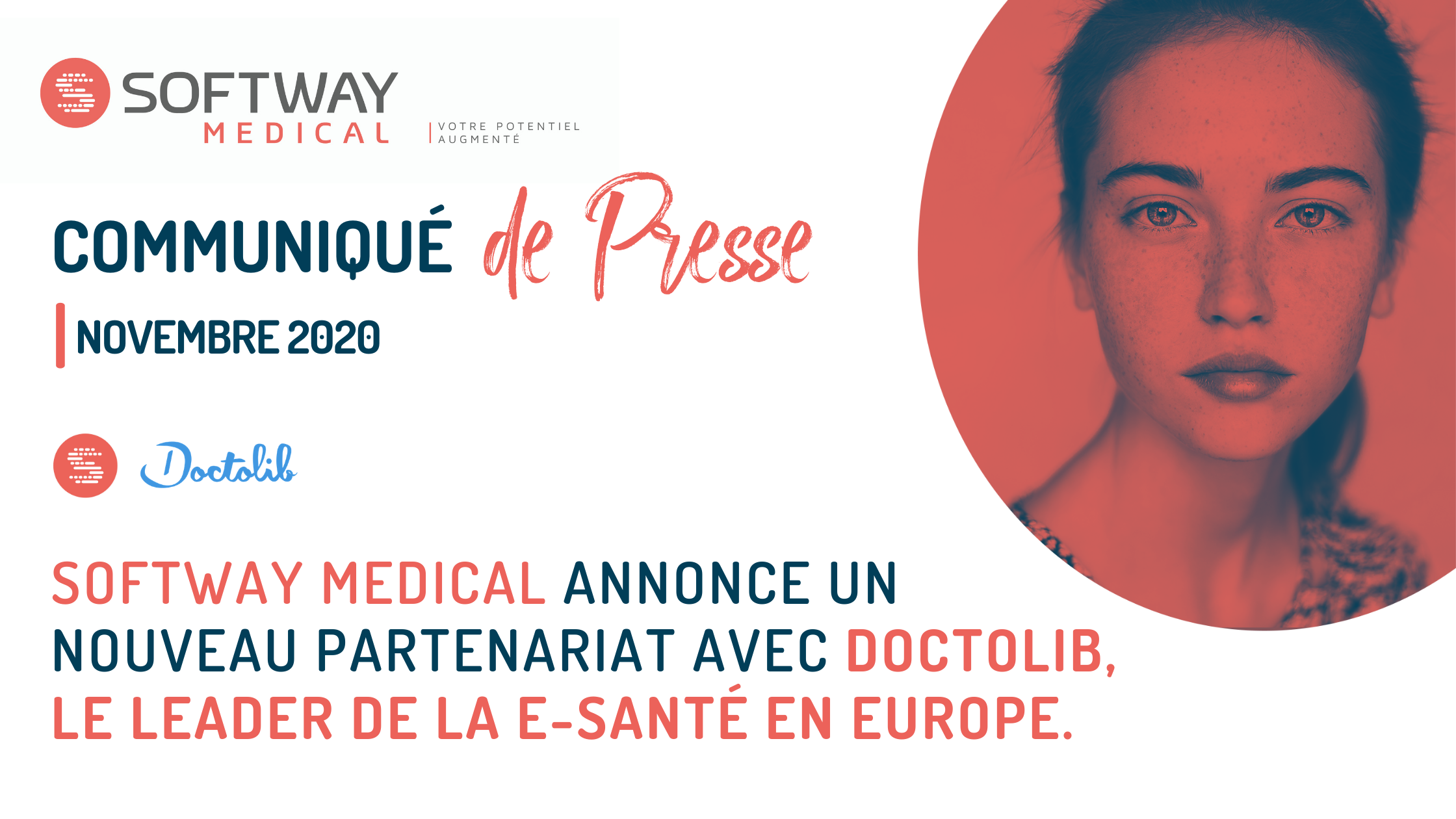 Partenariat entre Softway Medical et Doctolib