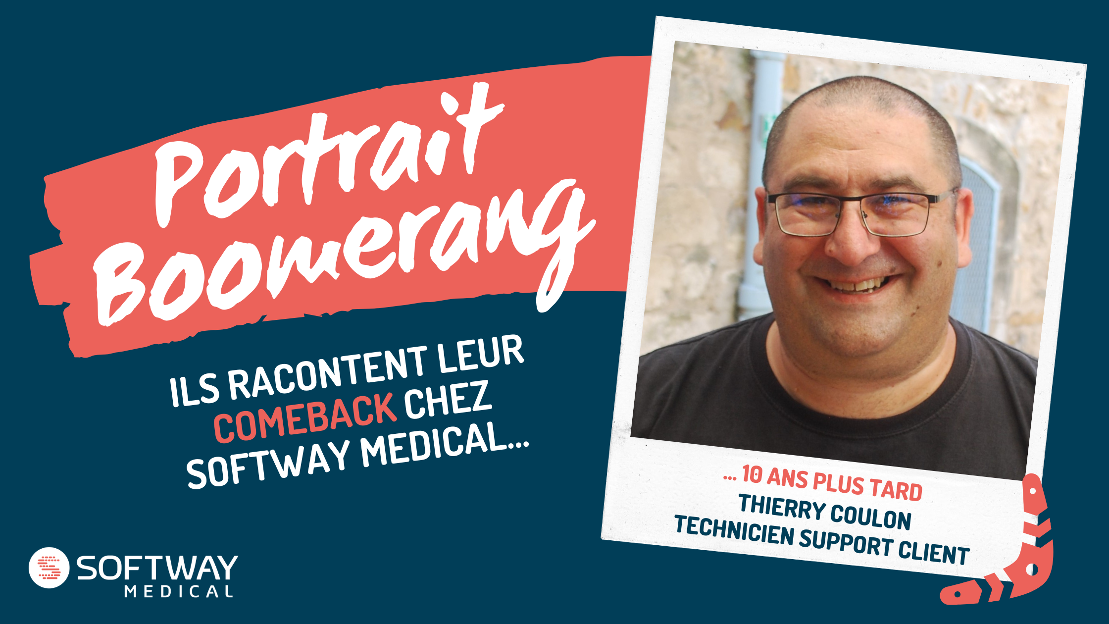 Thierry Coulon, Technicien Support Client