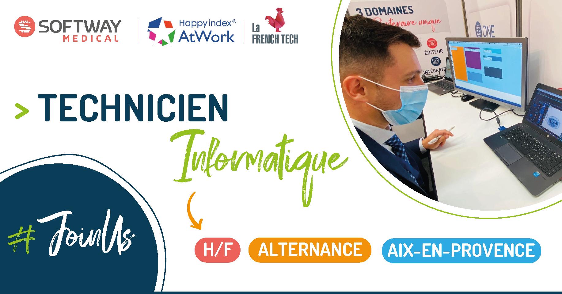ALTERNANT TECHNICIEN INFORMATIQUE – H/F – Aix-En-Provence