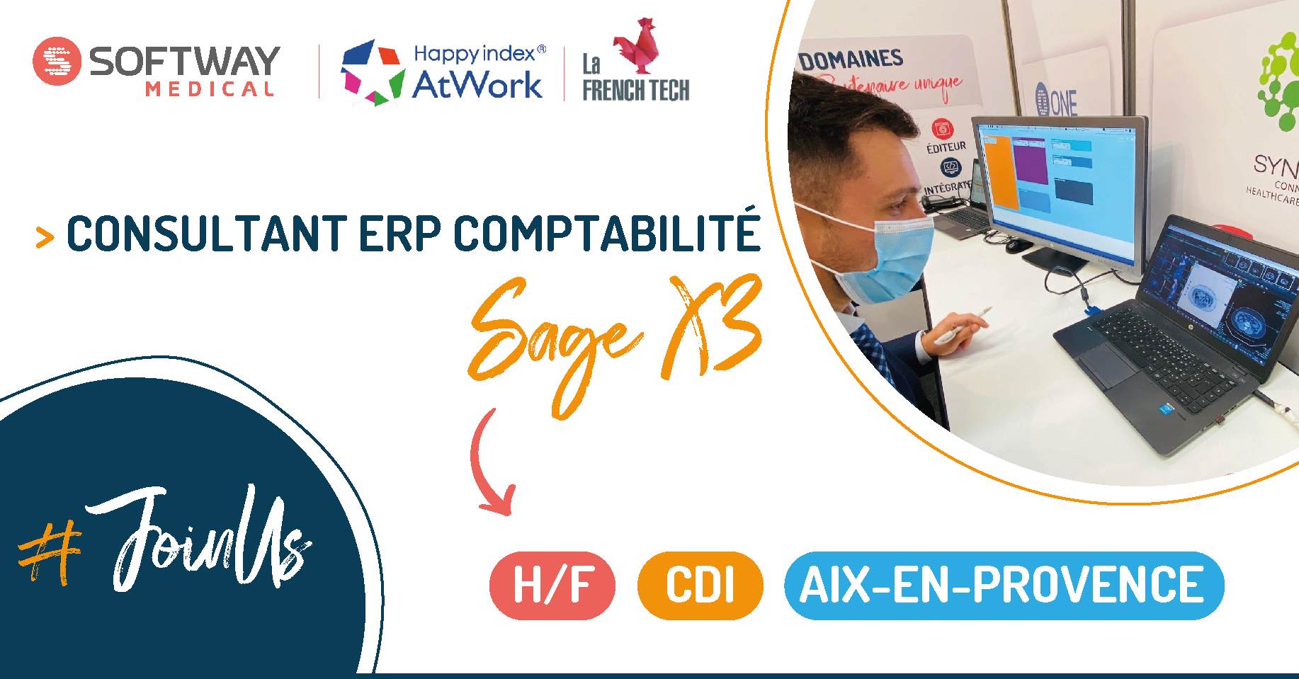 CONSULTANT ERP COMPTABILITE SAGE X3- H/F – Aix-En-Provence