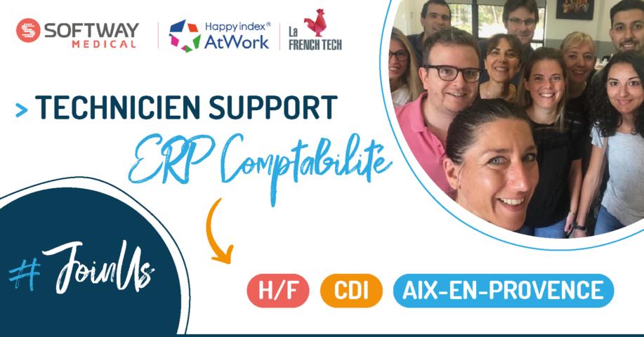 TECHNICIEN SUPPORT ERP COMPTABILITE – H/F – Aix-En-Provence