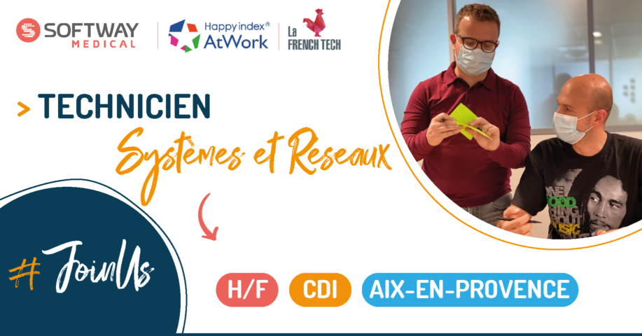 TECHNICIEN SYSTEMES ET RESEAUX – H/F – Aix-En-Provence