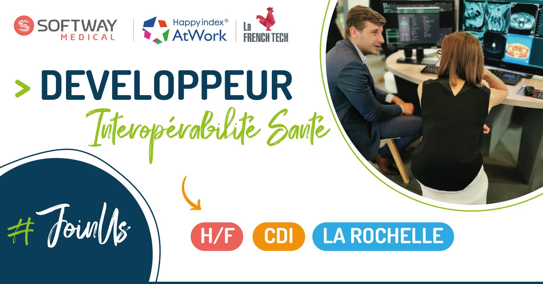 DEVELOPPEUR INTEROPERABILITE SANTE – H/F – La Rochelle