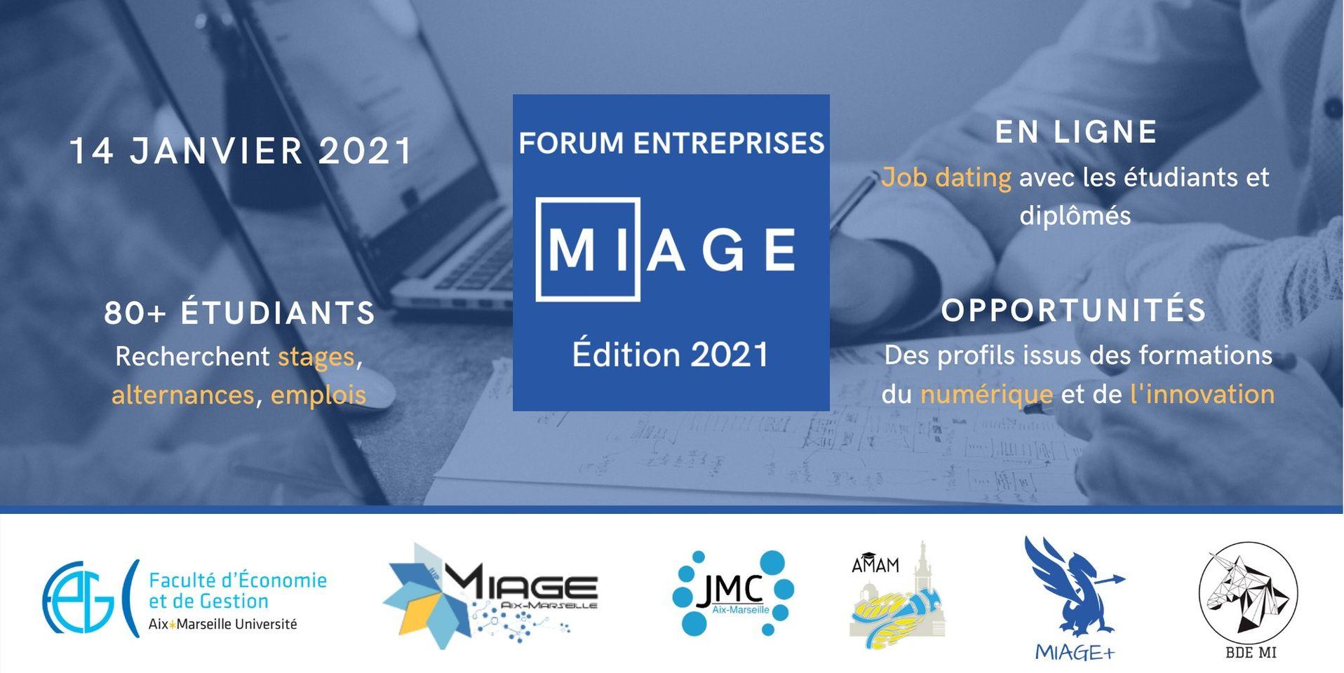 Forum Entreprises MIAGE