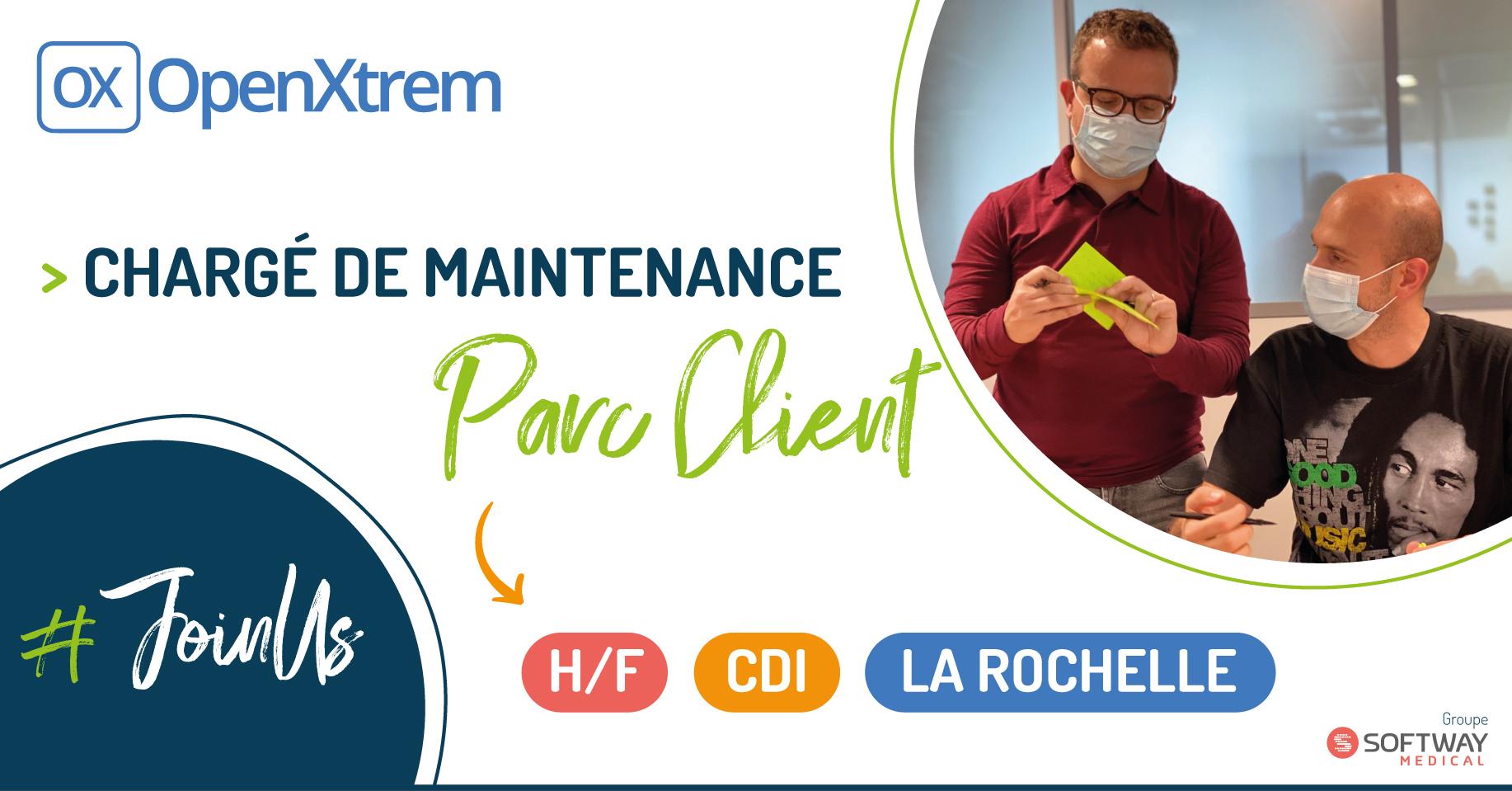 CHARGE DE MAINTENANCE PARC CLIENT – H/F – La Rochelle