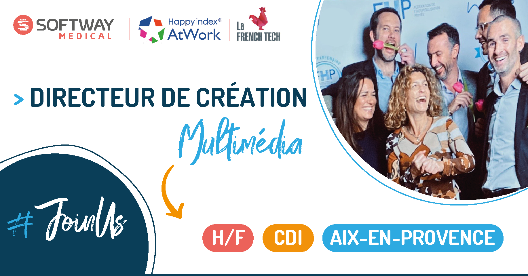 DIRECTEUR DE CREATION MULTIMEDIA – H/F – Aix-en-Provence