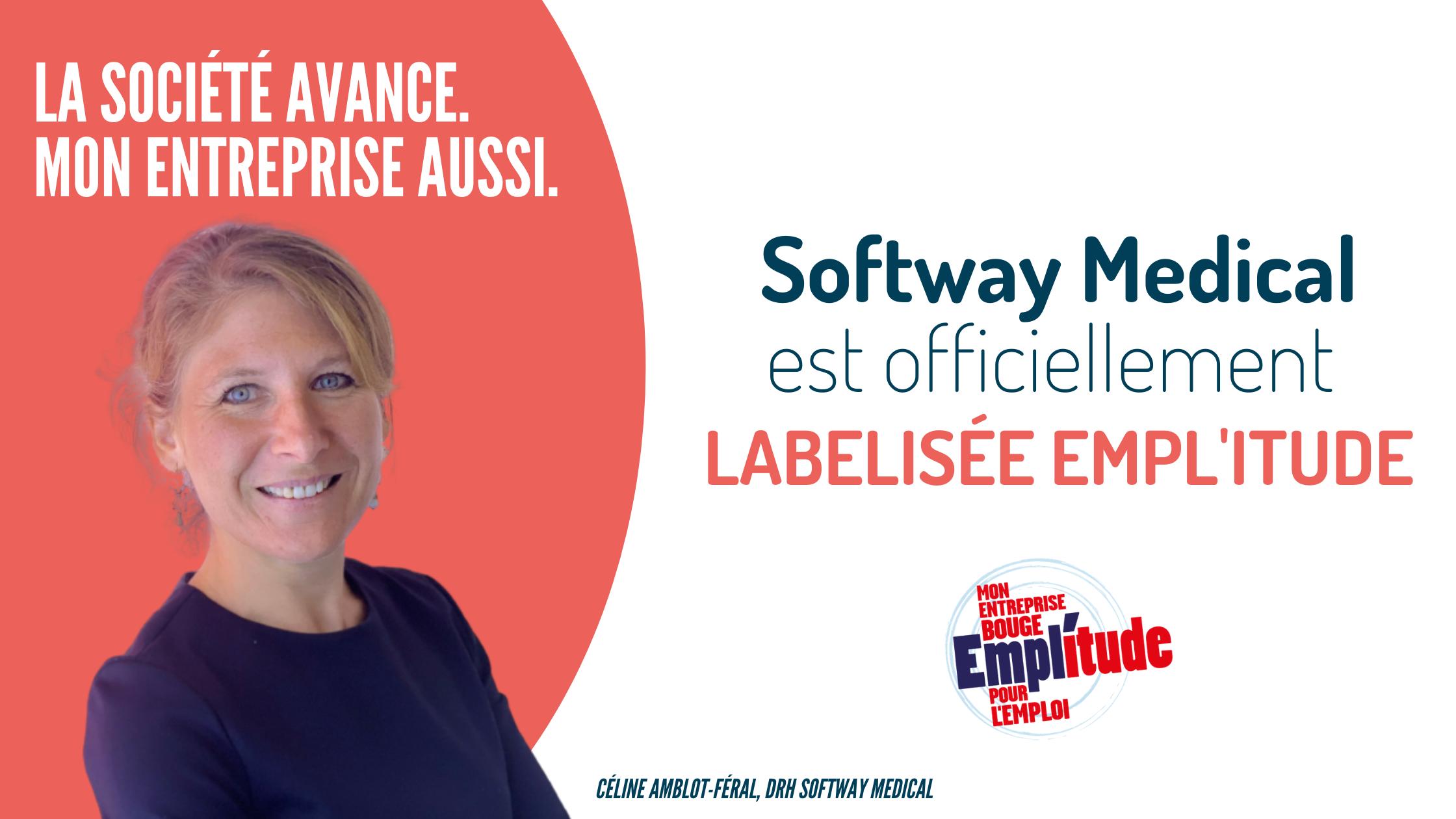 Softway Medical obtient le renouvellement du Label Empl'itude !
