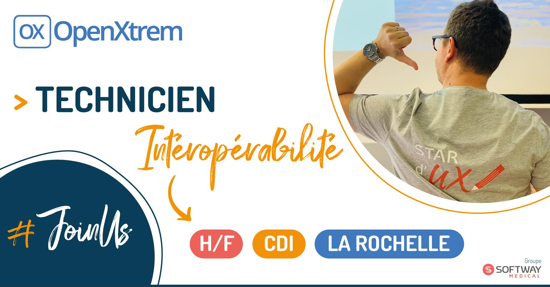 TECHNICIEN INTEROPERABILITE – H/F – La Rochelle