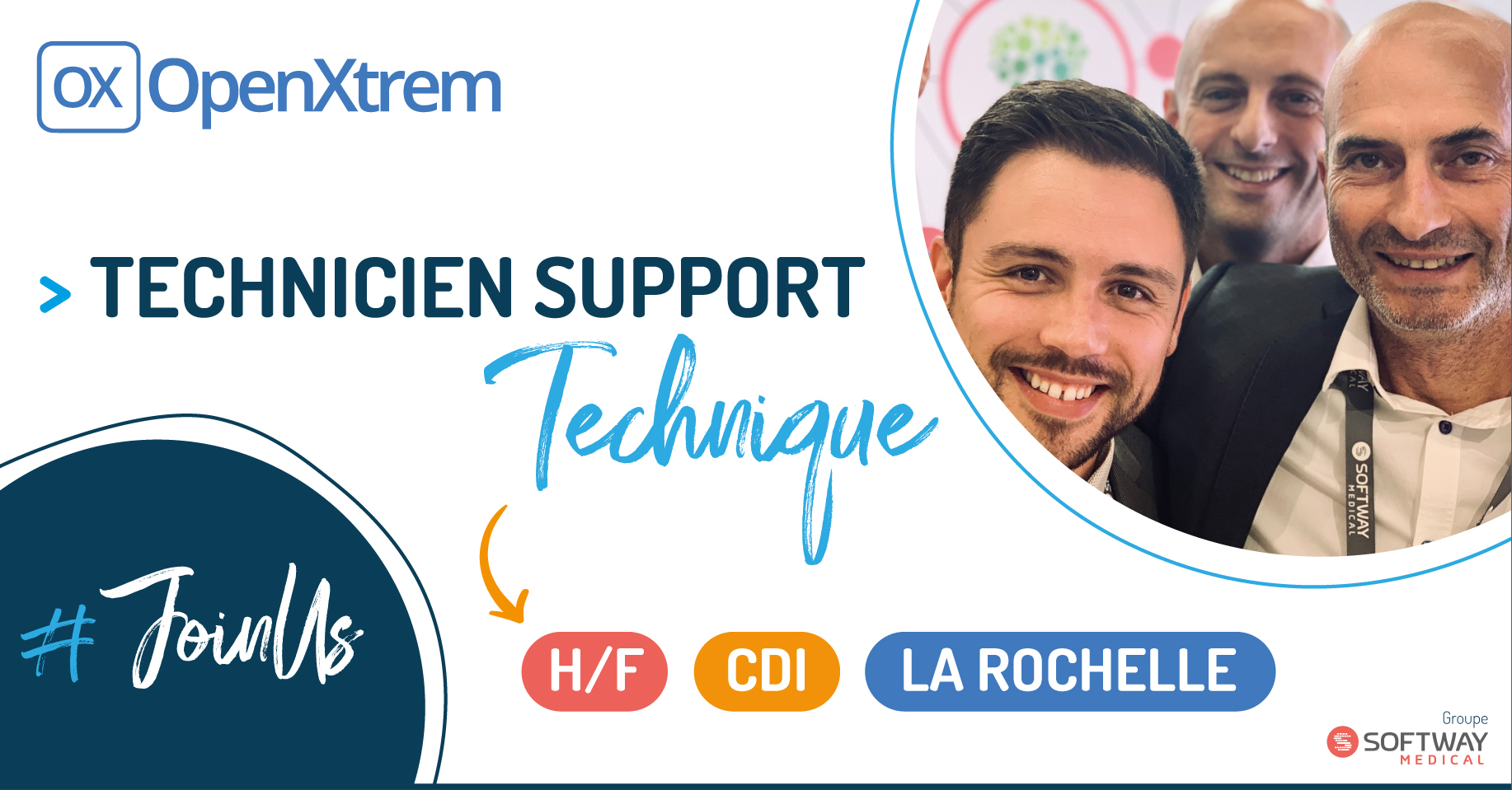 TECHNICIEN SUPPORT TECHNIQUE – H/F – La Rochelle