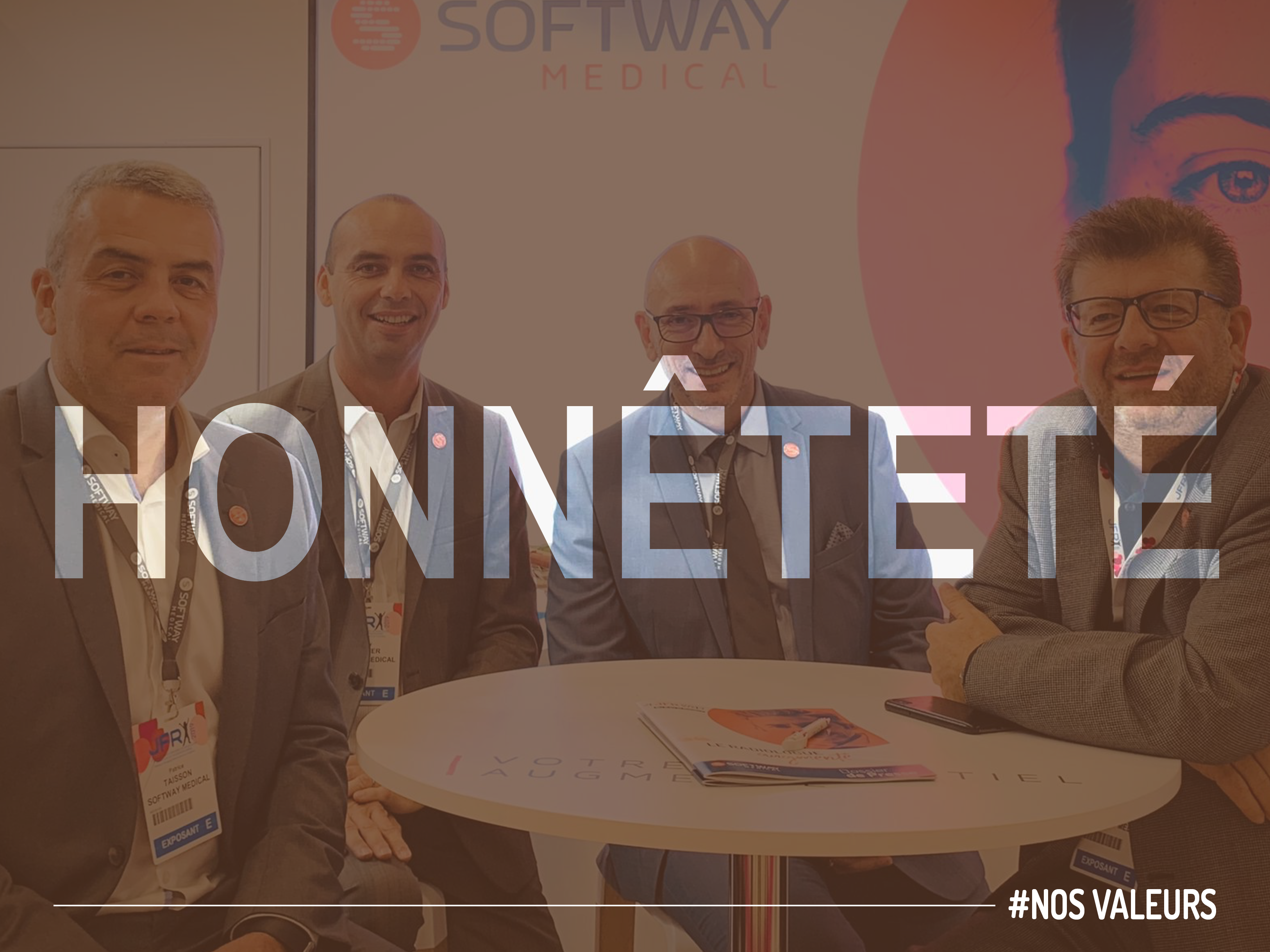 Elles sont 6 et sont l'ADN des collaborateurs de Softway Medical…