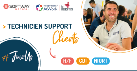 TECHNICIEN SUPPORT CLIENTS – H/F – NIORT