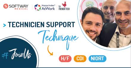 TECHNICIEN SUPPORT TECHNIQUE / COORDINATEUR – F/H – NIORT