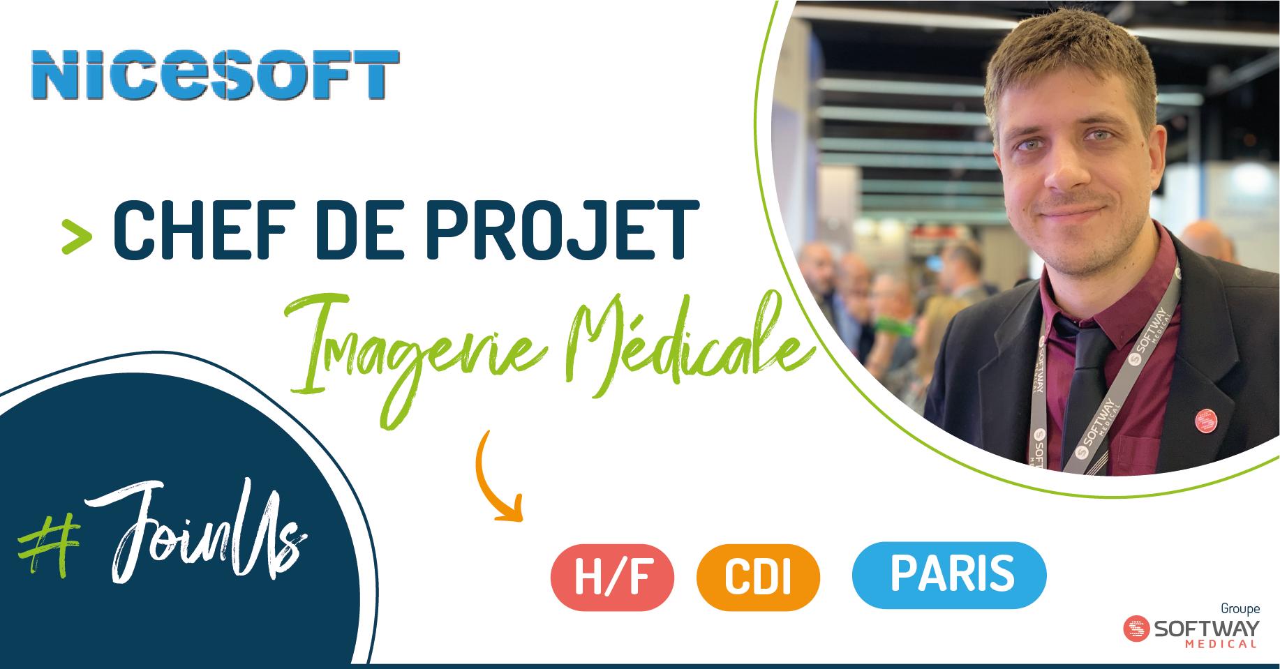 CHEF DE PROJET IMAGERIE MEDICALE – H/F – PARIS