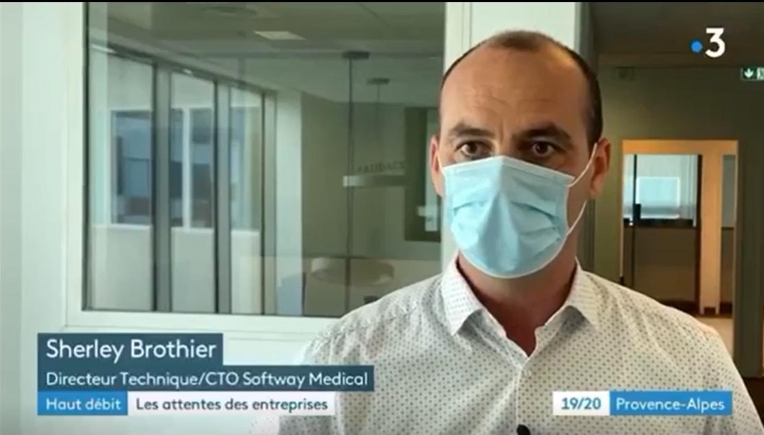 FRANCE 3 Softway Medical partage les avantages de la 5G dans notre secteur !
