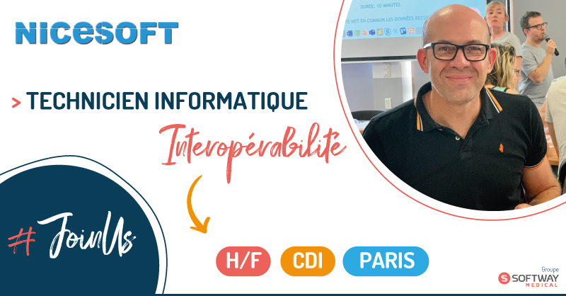 TECHNICIEN SUPPORT INTEROPERABILITE – H/F – PARIS