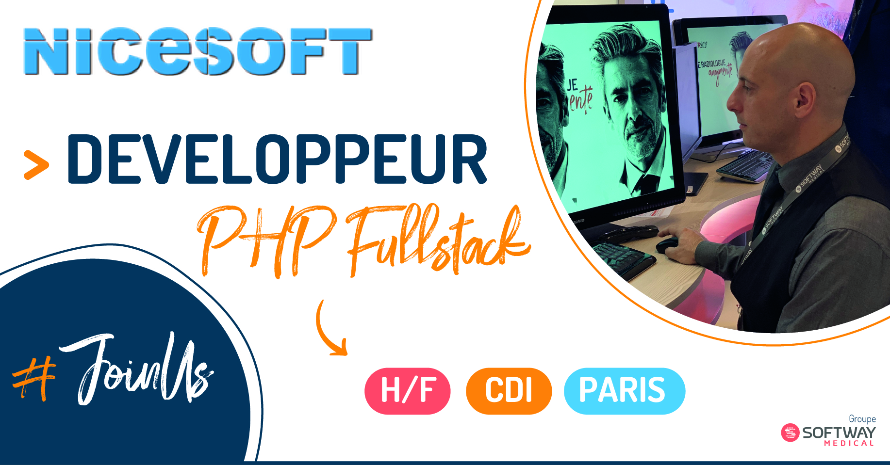 DEVELOPPEUR PHP FULLSTACK – H/F – Paris