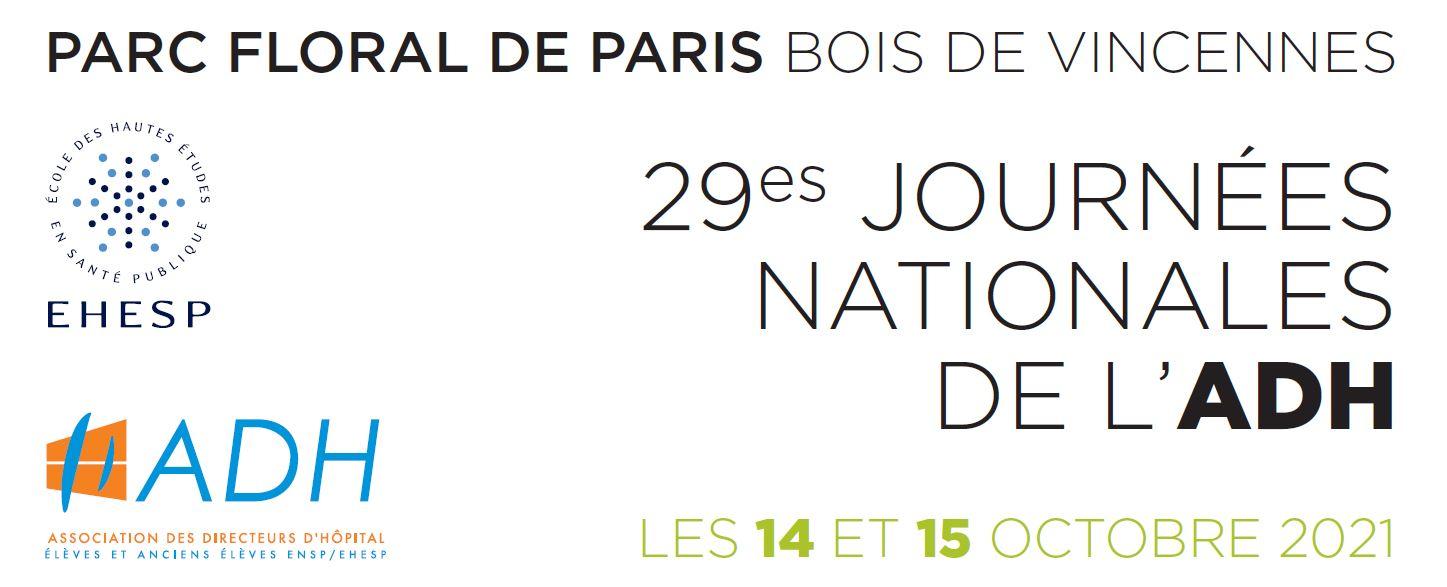 29èmes Journées nationales de l'ADH