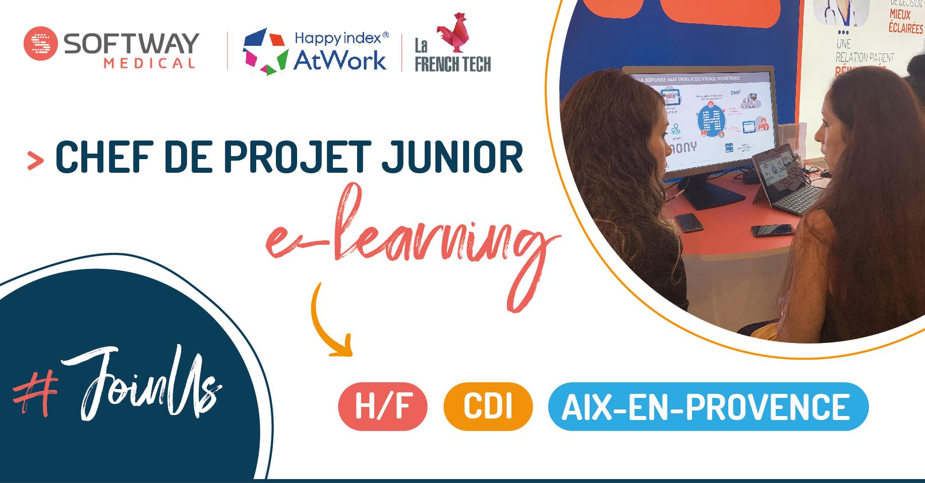 CHEF DE PROJET JUNIOR E-LEARNING H/F – AIX EN PROVENCE